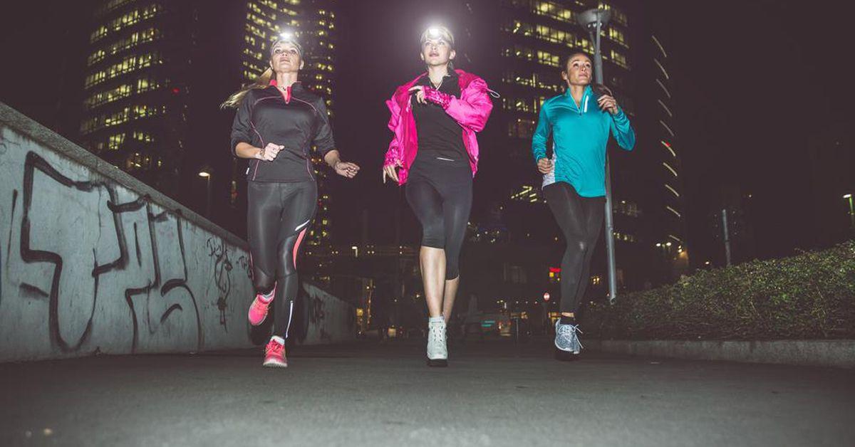 correre al buio