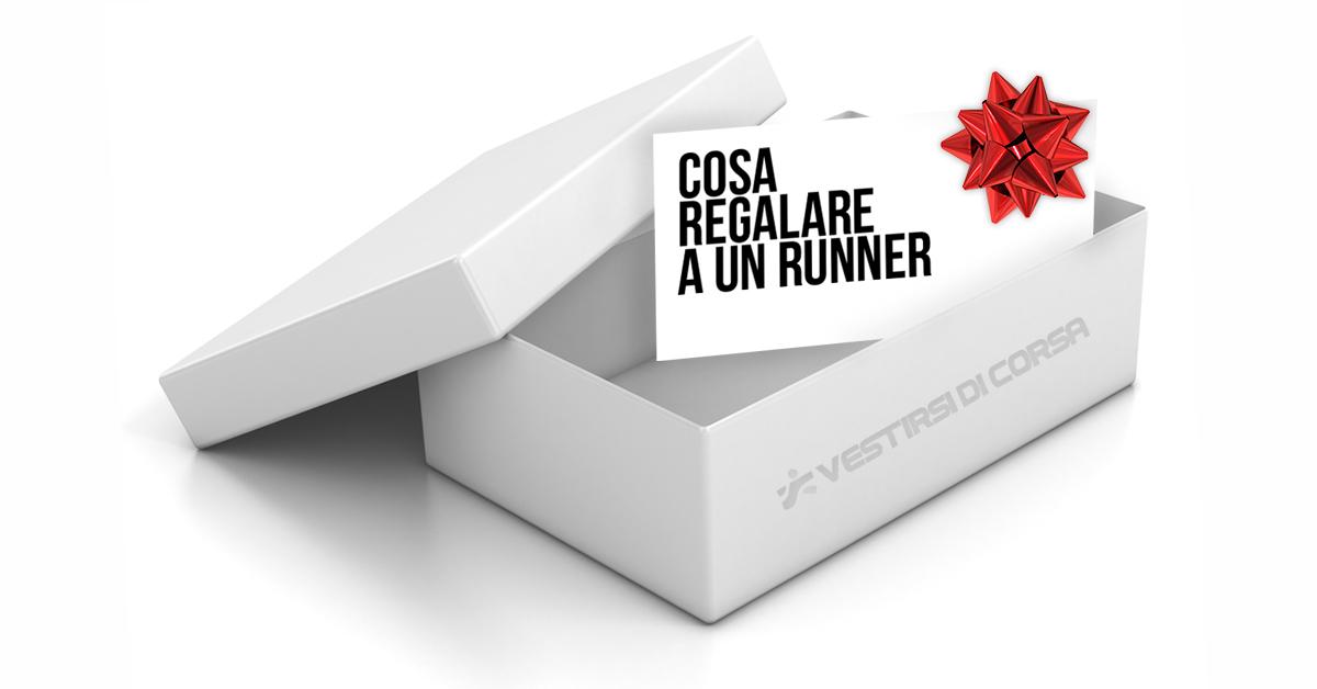 pacco regalo con biglietto cosa regalare a un runner