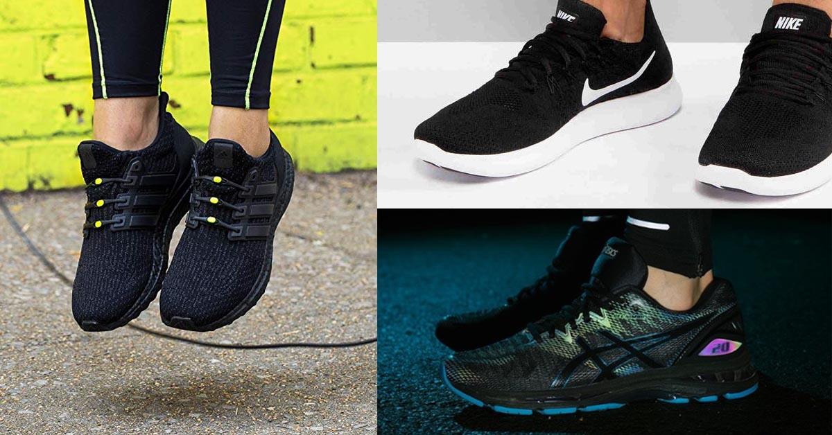 Le scarpe da ginnastica nere più comode