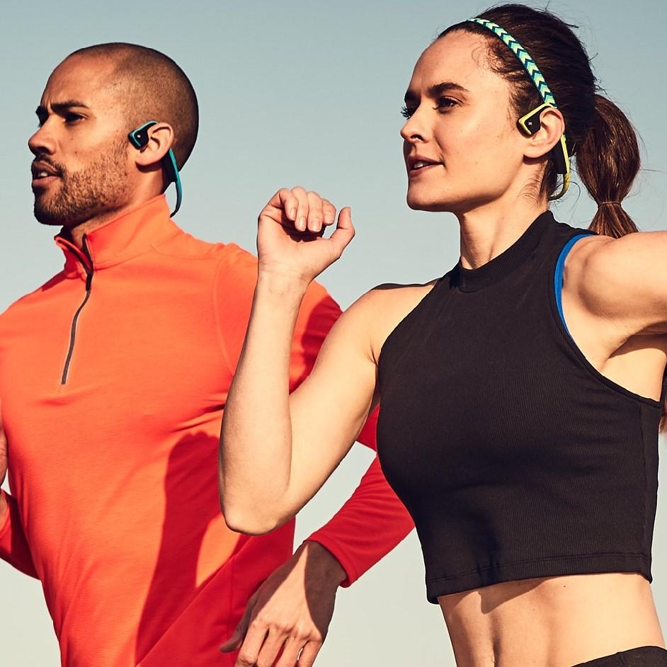Cuffie a conduzione ossea ideali per correre