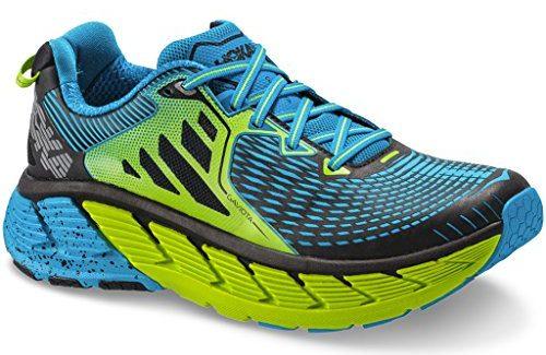 Hoka GAVIOTA, Scarpe Running Uomo, BrightGreen/Blue