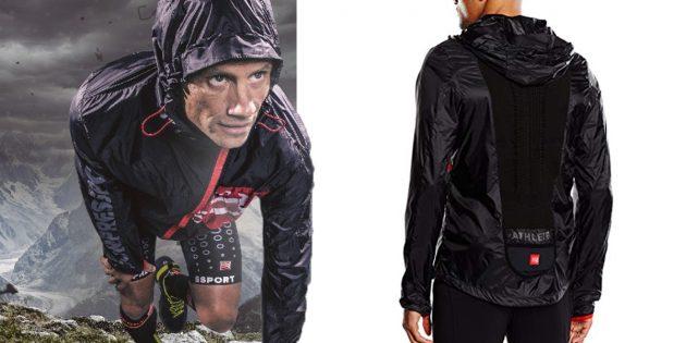 Migliore giacca running con cappuccio traspirante