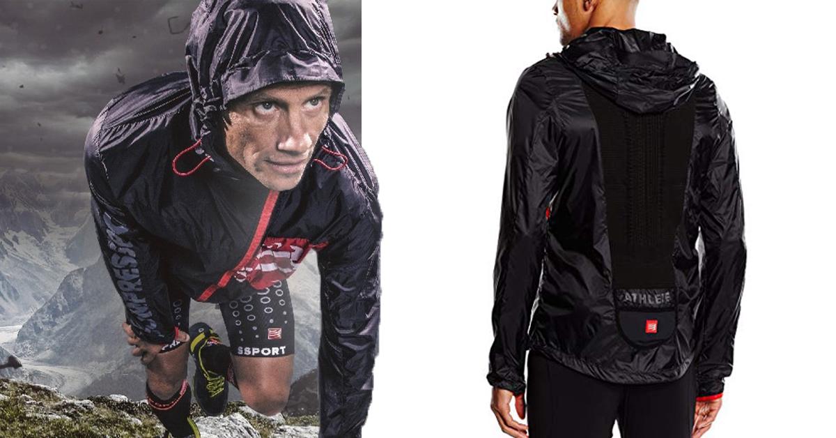 traspirante running giacca con autunnale antivento e cappuccio Migliore xFZqwFI