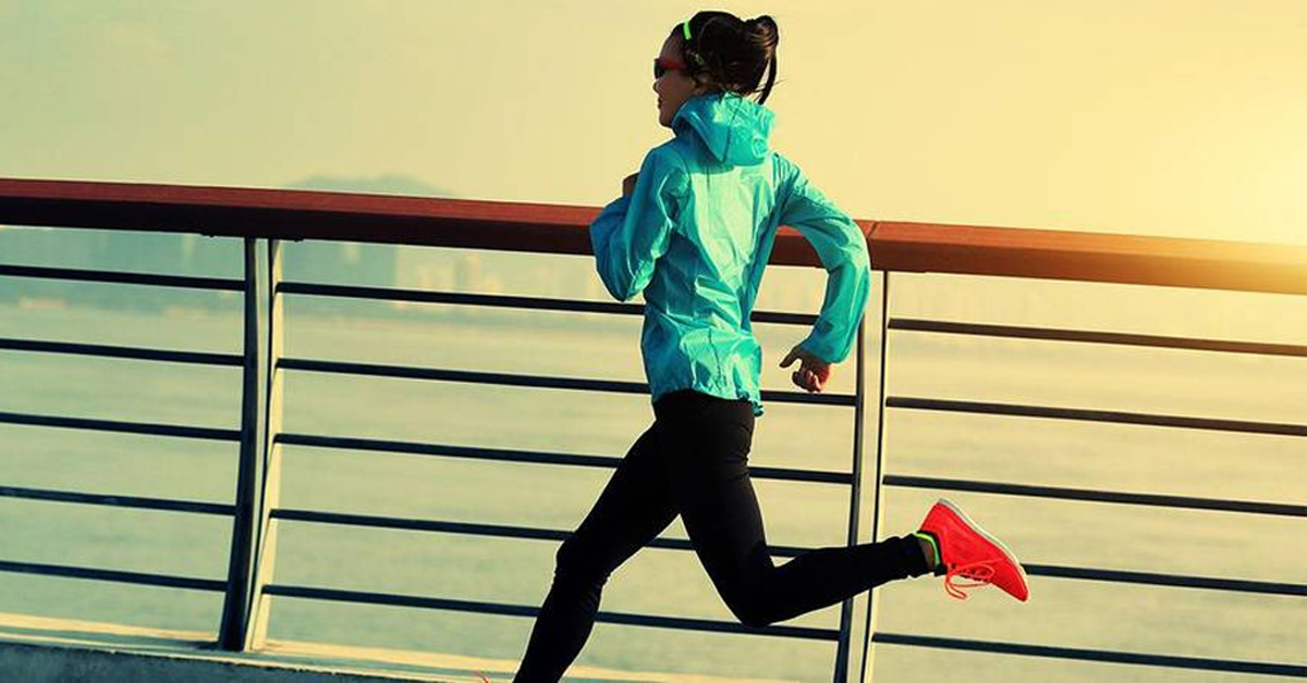 giacche running da donna traspiranti, calde, leggere e antivento