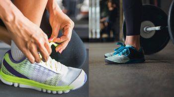 scarpe fitness per allenamenti misti in palestra